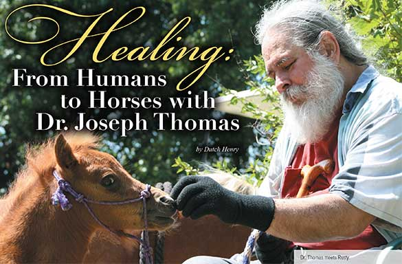 Healing: From Himans to Horses with Dr. Joseph THomas